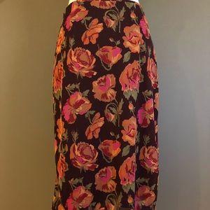 Express Skirts - Express Floral Skirt